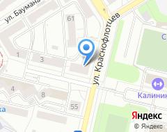Компания РЫБАЛОЧКА на карте города