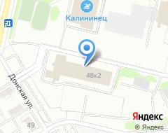 Компания Калининец на карте города