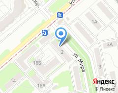 Компания Нимфа на карте города