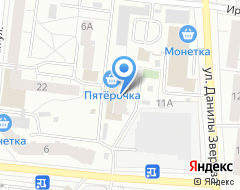 Компания АлигвА на карте города