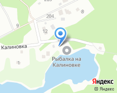 Компания Рыбалка на Калиновке на карте города
