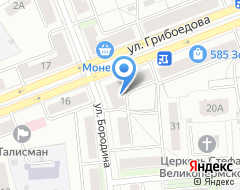 Компания СпортМакси на карте города