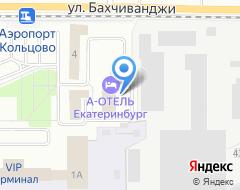 Компания Лайнер Аэропорт Отель на карте города
