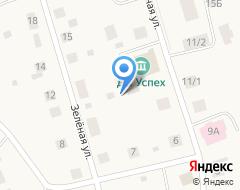 Компания Почтовое отделение п. Чеускино на карте города