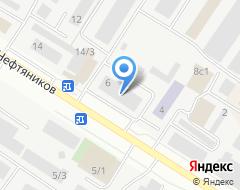 Компания Профсервис на карте города