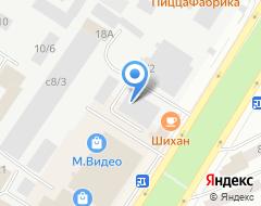 Компания EuroCar на карте города