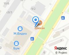 Компания Хоум Кредит энд Финанс Банк на карте города