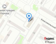 Компания Нефтеюганский жилищный центр на карте города