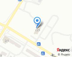 Компания Строящееся административное здание по ул. 9а микрорайон (г. Нефтеюганск) на карте города
