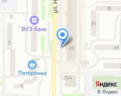 Компания Бизнес Нефтеюганск на карте города