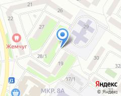 Компания Квадрат м2 на карте города