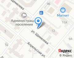 Компания Гостиница на карте города