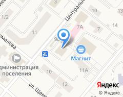 Компания Банкомат, Газпромбанк, филиал на карте города