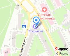 Компания ЮНИСТРИМ на карте города