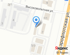 Компания АВТОЛЮКС на Аэрофлотской на карте города