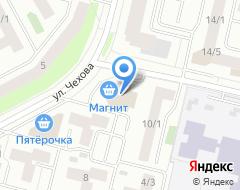 Компания Знак на карте города