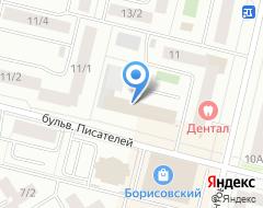 Компания Общественная безопасность на карте города