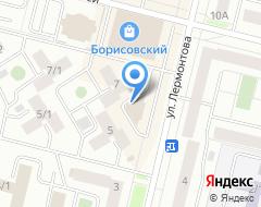 Компания Риц на карте города