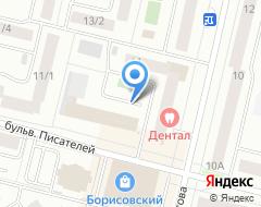 Компания Сургутский визовый центр на карте города