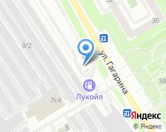 Компания Автостоянка на ул. Гагарина на карте города