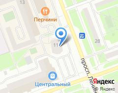 Компания СОВА на карте города
