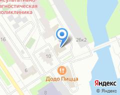 Компания Арина на карте города