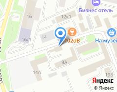 Компания Благо Дать на карте города