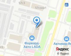 Компания АВТО & ГАЗ на карте города