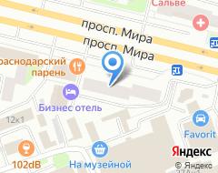 Компания Автобрат на карте города