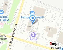 """Компания """"AvtoVlada"""" на карте города"""