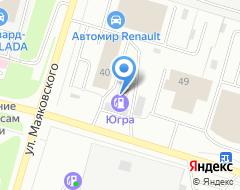 Компания Гарантия на карте города