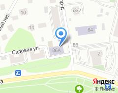 Компания РОСАВТО на карте города