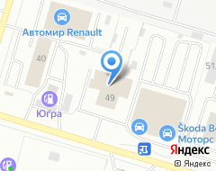 Компания Альянс Моторс на карте города