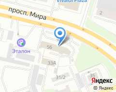 Компания Урал-Интер-Кард на карте города