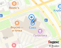 Компания Мираж на карте города