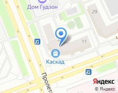 Компания Мегаполис на карте города