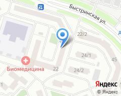 Компания ВК на карте города