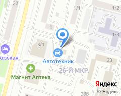Компания Mobil 1 на карте города