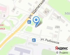 Компания КБ Сургутский Центральный на карте города