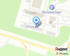 Компания Сибирь-АИК на карте города