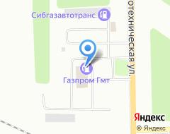 Компания АГЗС ГазпромТрансгазСургут на карте города