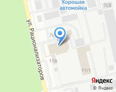 Компания Техноцентр-ГАЗ на карте города