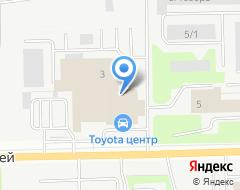 Компания Тойота Центр Сургут на карте города