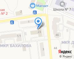 Компания Участковый пункт полиции на карте города