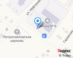 Компания Средняя общеобразовательная школа №6 на карте города
