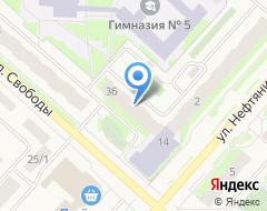 Компания Азет на карте города
