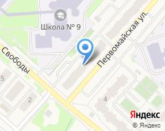 Компания УПРАВДОМ на карте города