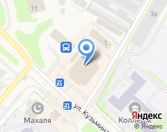 Компания Запсибкомбанк на карте города