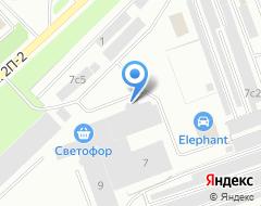 Компания АвтоЗап-NV на карте города