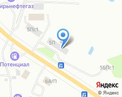 Компания Анева на карте города